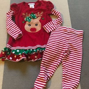 Bonnie Jean Holiday Outfit 4T